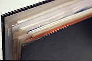 Folder with business documents