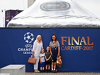 Fans soak up the atmosphere at the Champions Festival<br /> <br /> Photographer Kevin Barnes/CameraSport<br /> <br /> UEFA Champions League Final - Training session - Juventus v Real Madrid - Friday 2nd June 2017 - Principality Stadium - Cardiff<br />  <br /> World Copyright © 2017 CameraSport. All rights reserved. 43 Linden Ave. Countesthorpe. Leicester. England. LE8 5PG - Tel: +44 (0) 116 277 4147 - admin@camerasport.com - www.camerasport.com