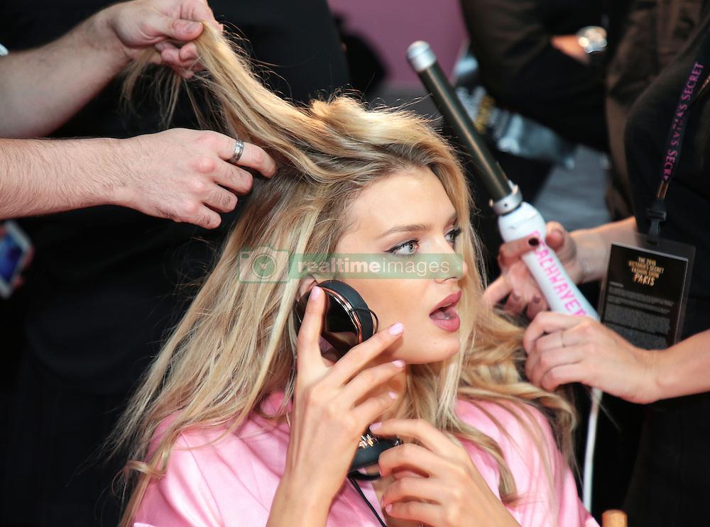 Victoria's Secret Fashion Show - Hair and Makeup, Paris, 2016, Paris, France. 30 Nov 2016 Pictured: Lily Donaldson. Photo credit: MEGA TheMegaAgency.com +1 888 505 6342