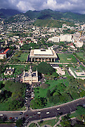 Hawaii State Capitol Bldg., Honolulu, Hawaii<br />