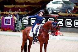 Witte-Vrees Madeleine, NED, Cennin<br /> MEVISTO Amadeus Horse Indoor Salzburg<br /> © Hippo Foto - Stefan Lafrentz<br /> 11-12-2016