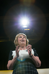 © Licensed to London News Pictures . 07/03/2014 . York , UK . DOROTHY THORNHILL addresses the rally . The first day of the Liberal Democrat Spring Conference . Photo credit : Joel Goodman/LNP