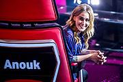 Tweede liveshow van het tiende seizoenThe voice of Holland .<br /> <br /> Op de foto: Anouk Teeuwe