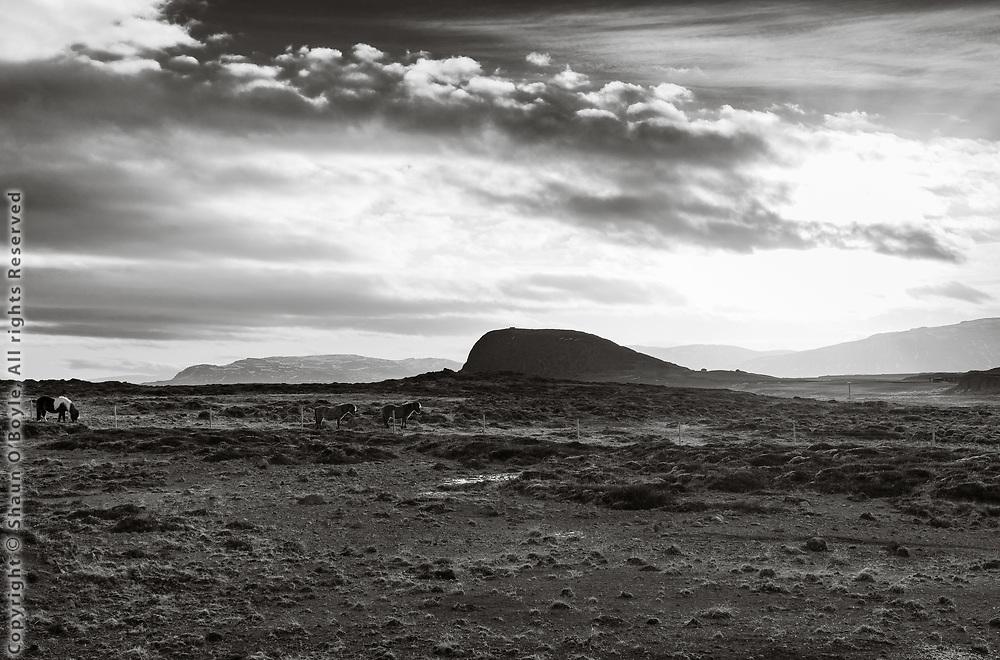 Helgafell, also known as Thor's mountain, a pagan era holy mountain.