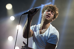 "© Licensed to London News Pictures . 02/07/2015 . Manchester , UK . PAOLO NUTINI performs at the Castlefield Bowl at the opening of "" Summer in the City "" festival in Manchester. Photo credit : Joel Goodman/LNP"