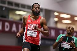 American Track League<br /> ESPN Indoor #2 track and field meet<br /> Deon Lendore, Trinidad & Tabago, 200,