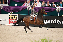 Michaels Beerbaum Meredith (GER) - Checkmate 4<br /> Rolex FEI World Cup Final Jumping 2011<br /> © Hippo Foto - Leanjo de Koster