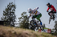 #77 (SAKAKIBARA Kai) AUS  at Round 9 of the 2019 UCI BMX Supercross World Cup in Santiago del Estero, Argentina
