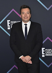 Jimmy Fallon attends the People's Choice Awards 2018 at Barker Hangar on November 11, 2018 in Santa Monica, CA, USA. Photo by Lionel Hahn/ABACAPRESS.COM