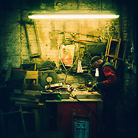 A London Foundry on Film
