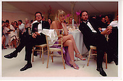Will Turner, Meredith Ostrom and magnus Fiennes at Lisa B and Anton Billtons wedding in 2005    ONE TIME USE ONLY - DO NOT ARCHIVE  © Copyright Photograph by Dafydd Jones 66 Stockwell Park Rd. London SW9 0DA Tel 020 7733 0108 www.dafjones.com