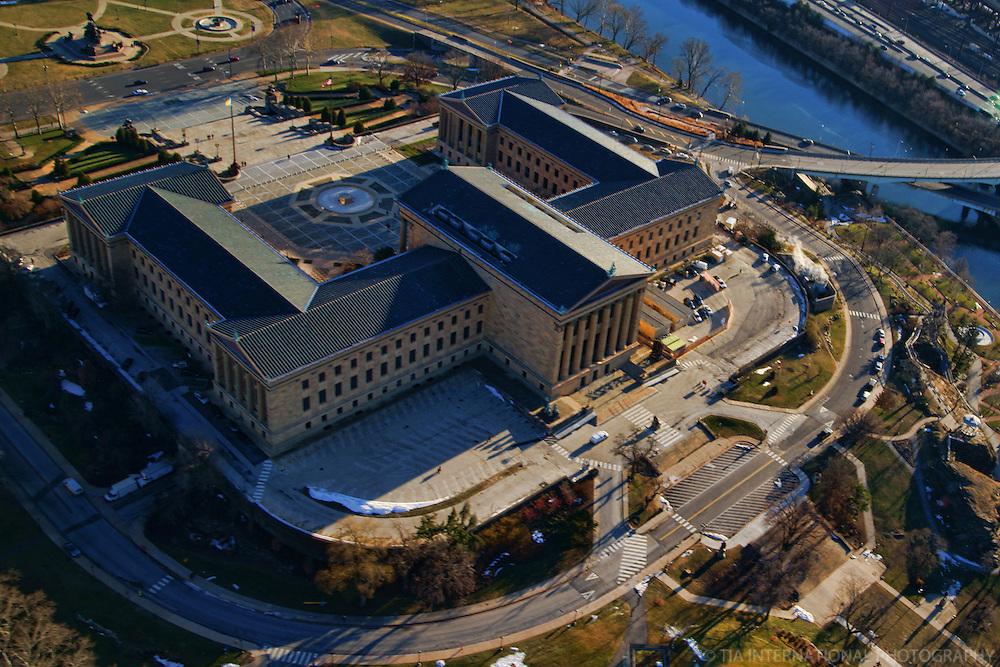 Philadelphia Museum of Art (Aerial 1)