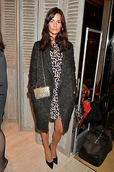 HEDVIG OPSHAUG at the Roger Vivier 'The Perfect Pair' Frieze cocktail party celebrating Ambra Medda & 'Miss Viv' at the Roger Vivier Boutique, Sloane Street, London on 15th October 2014.