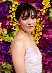 Constance Wu attending the Crazy Rich Asians Premiere held at Ham Yard Hotel, London. PRESS ASSOCIATION Photo. Picture date: Tuesday September 4, 2018. Photo credit should read: Ian West/PA Wire
