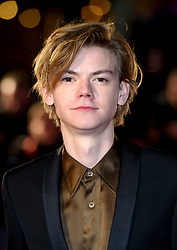 Thomas Brodie-Sangster attending the Maze Runner: The Death Cure fan screening held at Vue West End in Leicester Square, London.