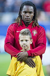 June 20, 2017 - Gdynia, Poland - Renato Sanches of Portugal during the UEFA European Under-21 Championship 2017  Group B match between Portugal and Spain at Gdynia Stadium in Gdynia, Poland on June 20, 2017  (Credit Image: © Andrew Surma/NurPhoto via ZUMA Press)