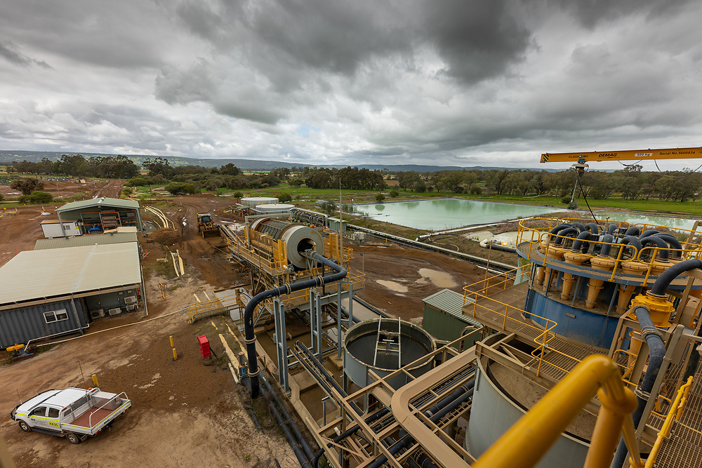 The Doral mineral sands operations in the south west of Western Australia
