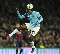Manchester City's Yaya Toure - Photo mandatory by-line: Dougie Allward/JMP - Mobile: 07966 386802 - 18/03/2015 - SPORT - Football - Barcelona - Nou Camp - Barcelona v Manchester City - UEFA Champions League - Round 16 - Second Leg