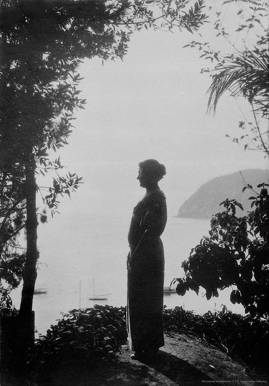 Rachele Mussolini, 1924