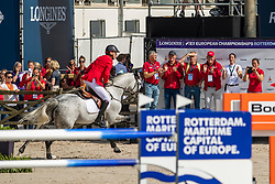 Ahlmann Christian, GER, Clintrexo Z<br /> European Championship Jumping<br /> Rotterdam 2019<br /> © Dirk Caremans<br /> Ahlmann Christian, GER, Clintrexo Z