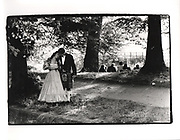 Victoria Rigby and Rob Baldwin, Magdalen Commen Ball, Oxford, 1988