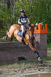 Poelmans Lore, BEL, Hermes vh Strateneinde<br /> Nationale LRV-Eventingkampioenschap Minderhout 2017<br /> © Hippo Foto - Kris Van Steen<br /> 30/04/17
