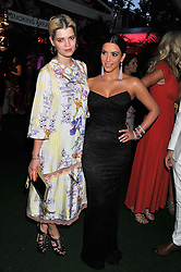 PIXIE GELDOF and KIM KARDASHIAN at the Glamour Women of The Year Awards 2011 held in Berkeley Square, London W1 on 7th June 2011.