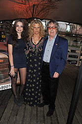BILL WYMAN and SUZANNE WYMAN and their daughter MATILDA WYMAN at Gabrielle's Gala an annual fundraising evening in aid of Gabrielle's Angel Foundation for Cancer Research held at Battersea Power Station, London on 2nd May 2013.