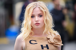 Ellie Bamber arriving for Royal Academy of Arts Summer Exhibition Preview Party 2019 held at Burlington House, London. Picture date: Tuesday June 4, 2019. Photo credit should read: Matt Crossick/Empics. EDITORIAL USE ONLY.