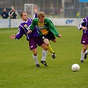 SV Huizen - Heerjansdam, Alexander de Jong en Maarten Schrama
