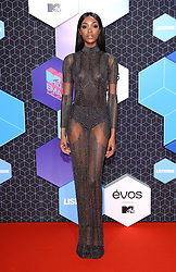 Jourdan Dunn attending the MTV Europe Music Awards 2016 at the Rotterdam Ahoy Arena, Rotterdam, the Netherlands. Photo credit should read: Doug Peters/EMPICS Entertainment