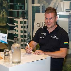 HARDERWIJK: CYCLING: SEPTEMBER 15th: <br /> De IJsselstreek gaat met ingang van 1 januari 2022 als continentaal wielerteam de weg op onder de noemer Allinq Continental Cycling Team. Daarmee heeft de vereniging uit Harderwijk twintig jaar na het verdwijnen van de Golff-wielerploeg weer een semiprofessioneel boegbeeld. Marc Zonnebelt kon er niet van slapen de laatste dagen.