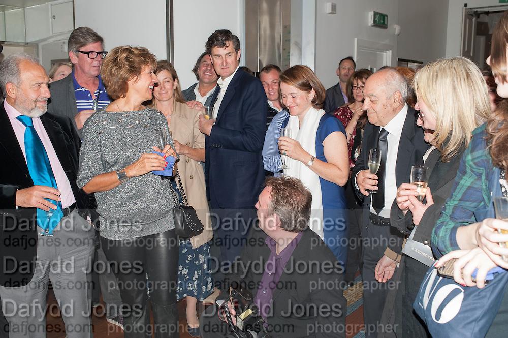 SABINA STEVENSON, Launch party for the publication of Antonio Carluccio's memoirs, A Recipe for Life, . Carluccio's in Covent Garden Garrick St. London.  26 September 2012