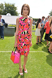 ELLA CATLIFF at the 2014 Glorious Goodwood Racing Festival at Goodwood racecourse, West Sussex on 31st July 2014.