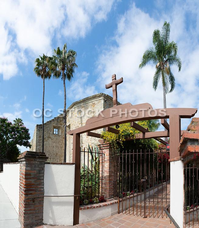 Mission Entrance off of Ortega Highway in San Juan Capistrano