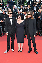 Joaquin Phoenix, Lynne Ramsay and guest arriving for the 70th Cannes Film Festival closing ceremony on May 28, 2017 in Cannes, France. Photo by Julien Zannoni/APS-Medias/ABACAPRESS.COM