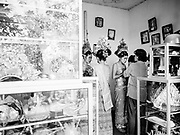 Preparation, Tooth Pulling Ceremony, Bali, Indonesia, April 2000