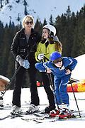 Fotosessie met de koninklijke familie in Lech /// Photoshoot with the Dutch royal family in Lech .<br /> <br /> Op de foto/ On the photo:  Prinses Laurentien , Prins Claus-Casimir , Prinses Leonore