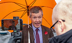 Willie Rennie rallies the Lib Dem troops, Edinburgh, 7 November 2019