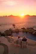 Sunset, Cabo San Lucas, Baja California, Mexico<br />