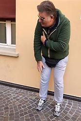 MARCO RAVAGLIA COLPITO DA UN CRAMPO VICINO ALLA ZONA FERITA DA IGOR<br /> UDIENZA PROCESSO IGOR VACLAVIC NORBERT FEHER BOLOGNA
