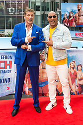 May 30, 2017 - Berlin, Berlin, Deutschland - David Hasselhoff und Dwayne Johnson beim Photocall zum Kinofilm 'Baywatch' im Sony Center. Berlin, 30.05.2017 (Credit Image: © Future-Image via ZUMA Press)
