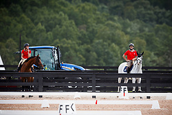 SUI, Clooney<br /> World Equestrian Games - Tryon 2018<br /> © Hippo Foto - Sharon Vandeput<br /> 15/09/2018