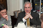 JEREMY KING, Vanity Fair Lunch hosted by Graydon Carter. 34 Grosvenor Sq. London. 14 May 2013