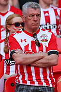 A Southampton fan during the The FA Cup match between Chelsea and Southampton at Wembley Stadium, London, England on 22 April 2018. Picture by Toyin Oshodi.