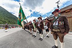 17.06.2017, Felbertauerntunnel Südportal, Matrei in Osttirol, AUT, 50. Jahre Felbertauernstrasse, im Bild Schützen der Kompanie Matrei in Osttirol. EXPA Pictures © 2017, PhotoCredit: EXPA/ Johann Groder