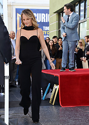Gustavo Dudamel honored with Star on the Hollywood Walk of Fame. 22 Jan 2019 Pictured: Helen Hunt. Photo credit: MEGA TheMegaAgency.com +1 888 505 6342