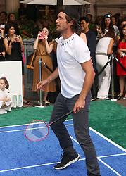 August 23, 2018 - New York City, New York, U.S. - Tennis player MISCHA ZVEREV attends the 2018 Lotte Palace Invitational Badminton Tournament held at the Lotte New York Palace. (Credit Image: © Nancy Kaszerman via ZUMA Wire)