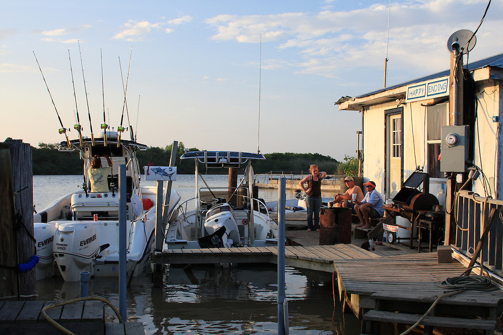Lazy Evening at Port Eads