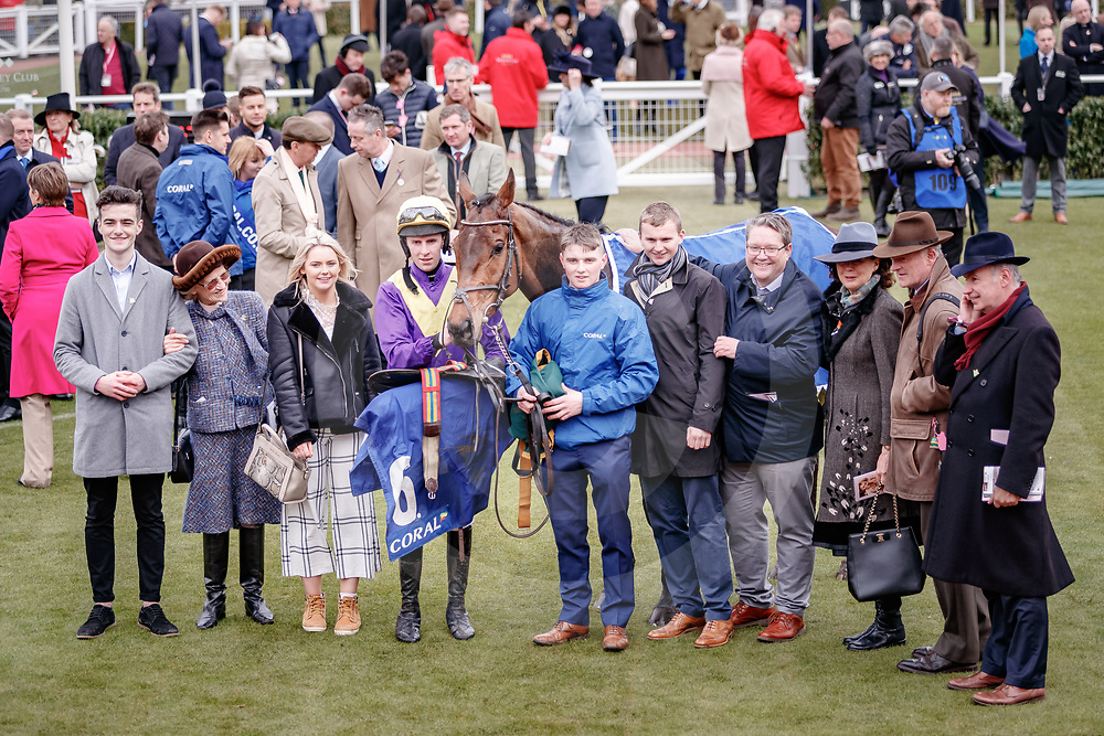 Bleu Berry (P. Towned) wins The Coral Cup Handicap Hurdle Race Gr.3 in Cheltenham, 14/03/2018, photo: Zuzanna Lupa